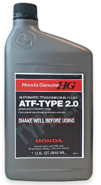 Used Honda Crosstour >> Honda ATF Type 2.0 - 08200-9015