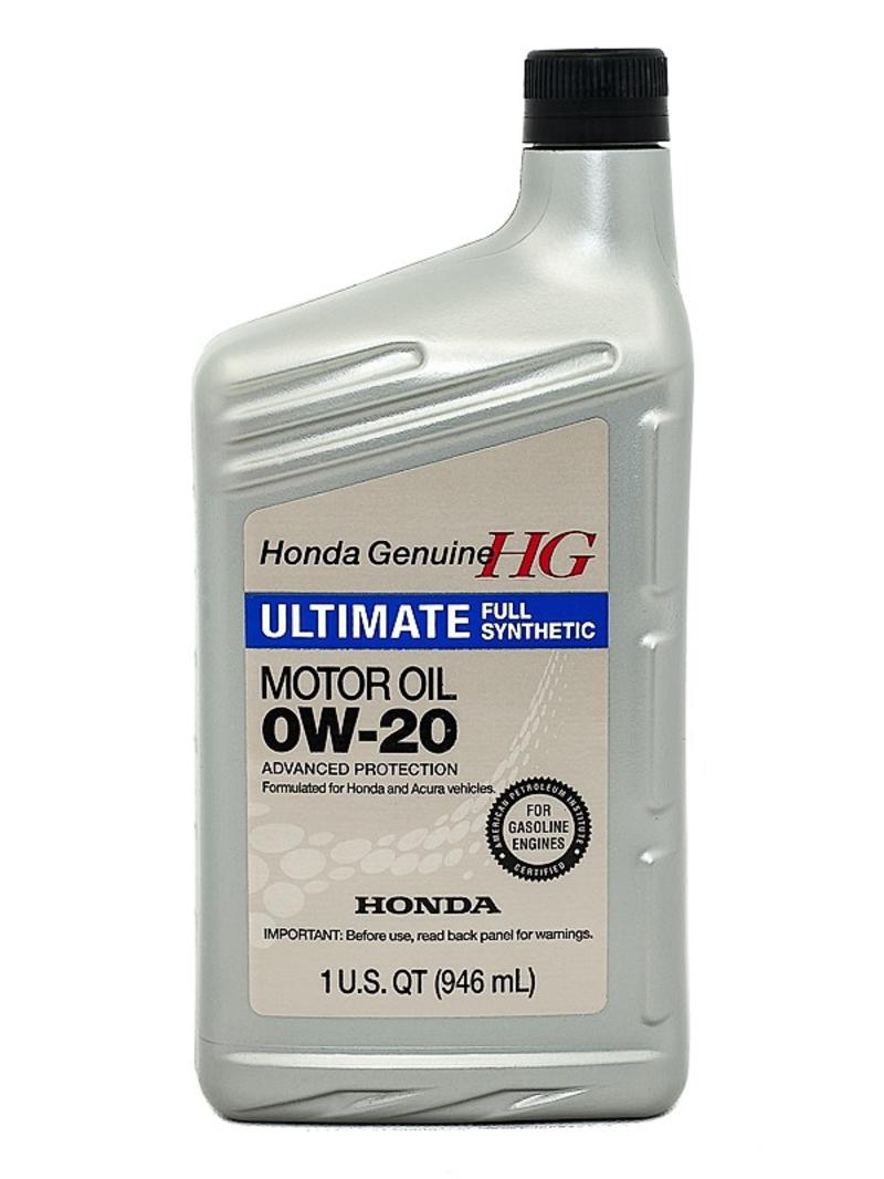 Honda 0w 20 Ultimate Full Synthetic Motor Oil 08798 9037