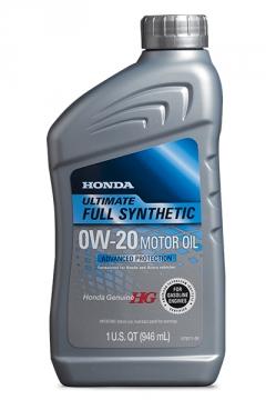 0W-20 Ultimate Full Synthetic Motor Oil