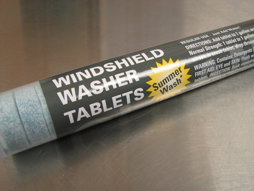 Honda Windshield Washer Tablets 25 Pack 08798 Tabs
