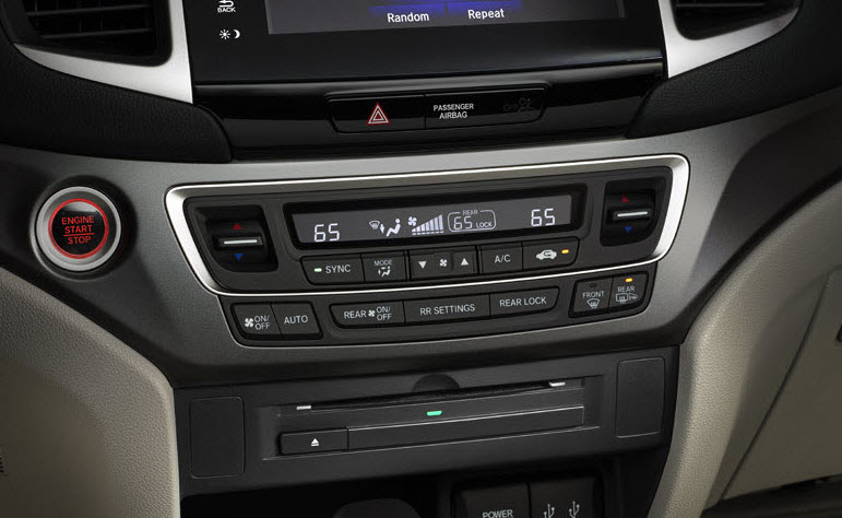 Honda Civic Ex-L >> 2016-2019 Honda CD Player - 08A06-TG7