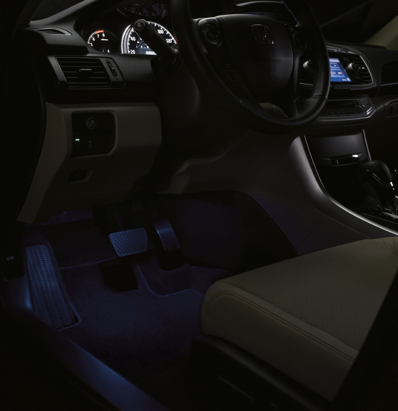 Used 2017 Honda Ridgeline >> 2013-2017 Honda Accord Interior Ilumination (except Sport) - 08E10-T2A-100A