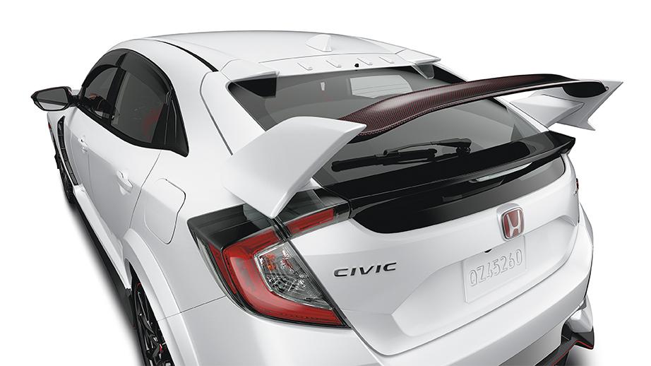 Honda Accord Hybrid For Sale >> 2017-2019 Civic Type R Carbon Fiber Wing Spoiler - 08F02 ...