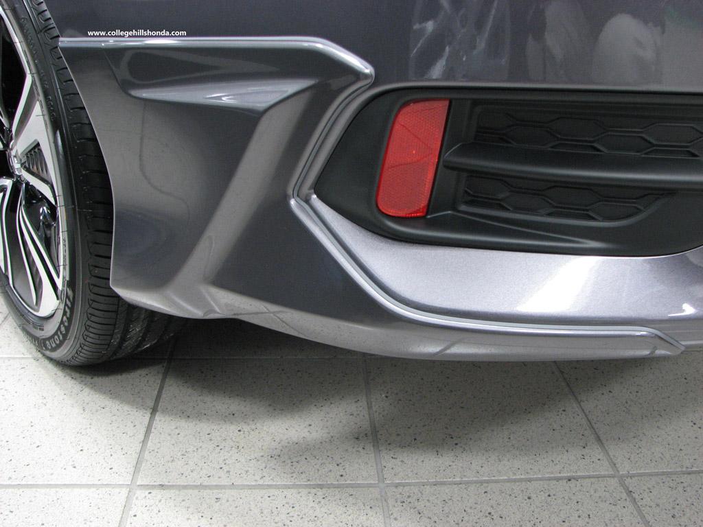 2016-2019 Honda Civic 4dr Rear Underbody Spoilers - 08F03-TBA