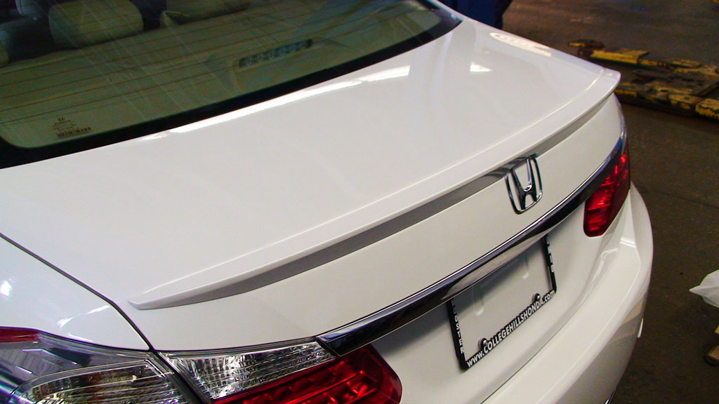 Honda Accord Ex-L >> 2013-2017 Honda Accord 4dr Deck Lid Spoiler - 08F10-T2A