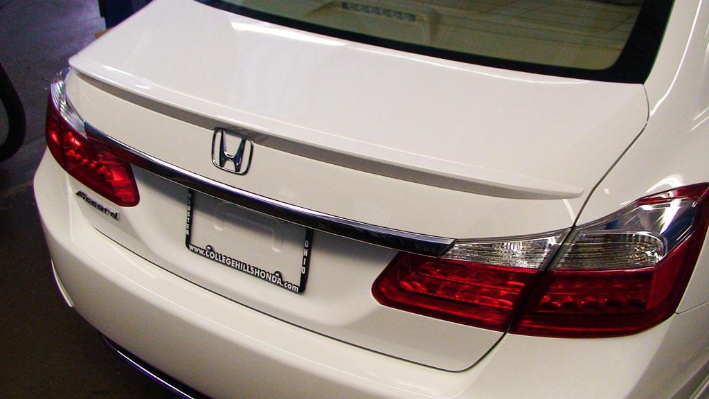 Deck Lid Spoiler 08f10 T2a College Hills Honda