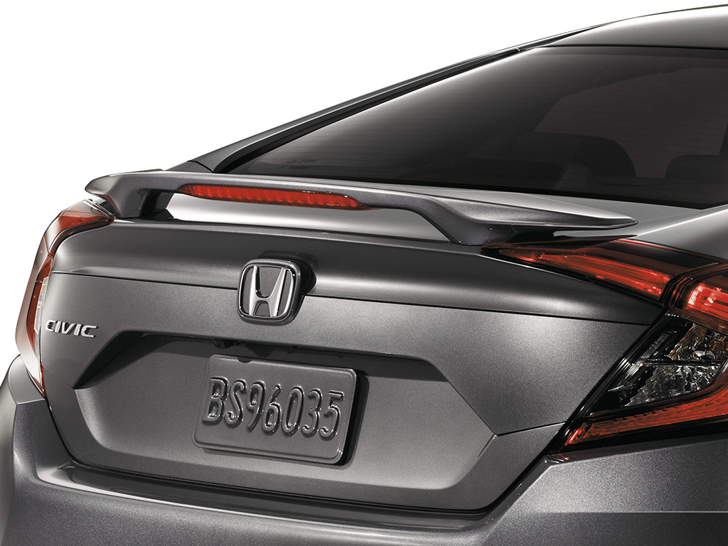 2016-2019 Honda Civic 4dr Wing Spoiler - 08F13-TBA