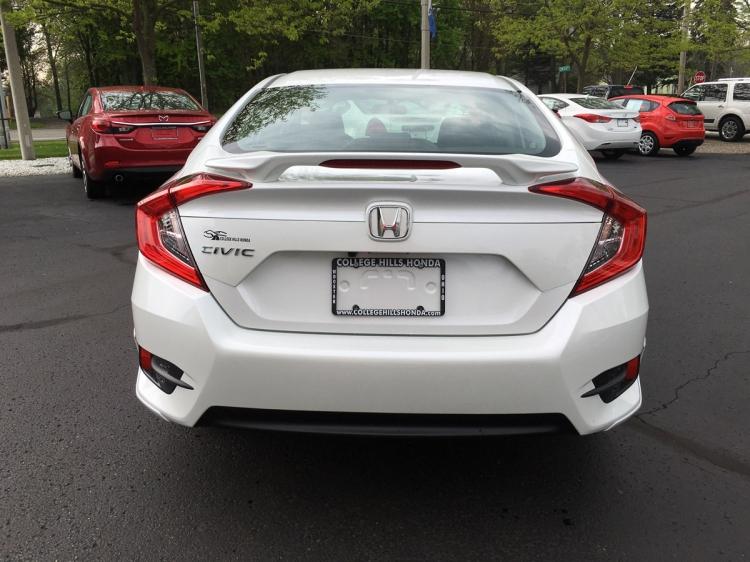 2016 2019 Honda Civic 4dr Wing Spoiler 08f13 Tba