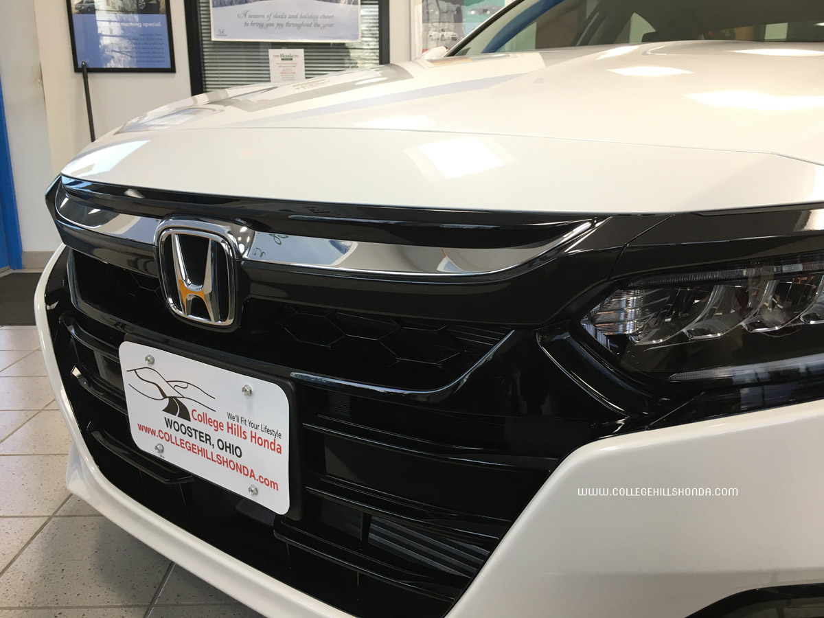 2018 Honda Accord Chrome Grille Accent 08f21 Tva 100a
