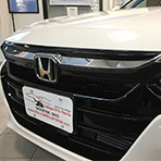 2018 2019 Honda Accord Black Chrome Grille Accent 08f21