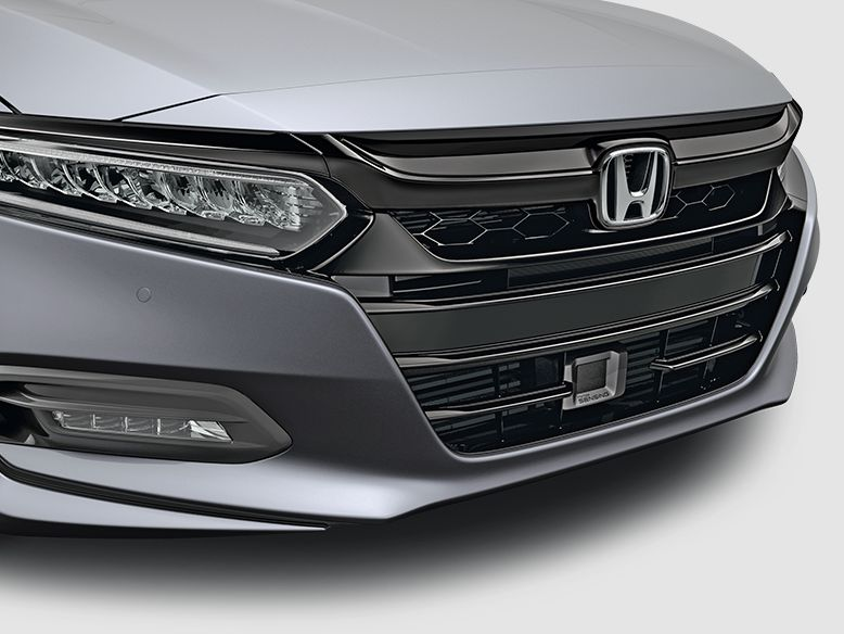 honda accord black chrome grille accent  tva