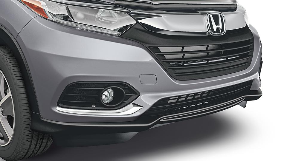 2019-2020 honda hr-v chrome front bumper garnish
