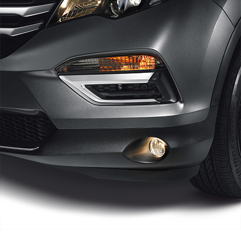 2016-2018 Honda Pilot Chrome Front Bumper Trim - 08F23-TG7-100