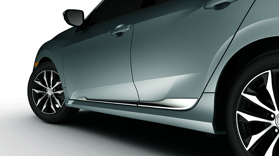honda civic hatchback chrome  door garnish  tgg