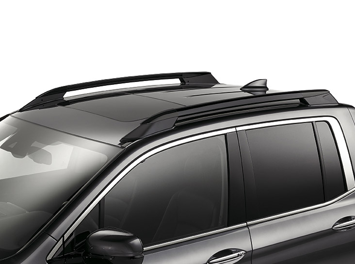 2017-2019 Honda Ridgeline Roof Rails (Black) - 08L02-T6Z-101