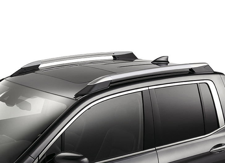 2017-2019 Honda Ridgeline Roof Rails (Silver) - 08L02-T6Z-101A