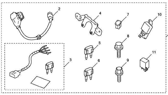 honda pilot towing wiring harnes