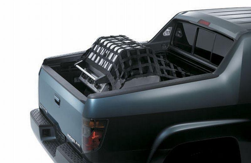 bed ridgeline honda accessories cargo rail 100a sjc trunk 2006 genuine graphics collegehillshonda number