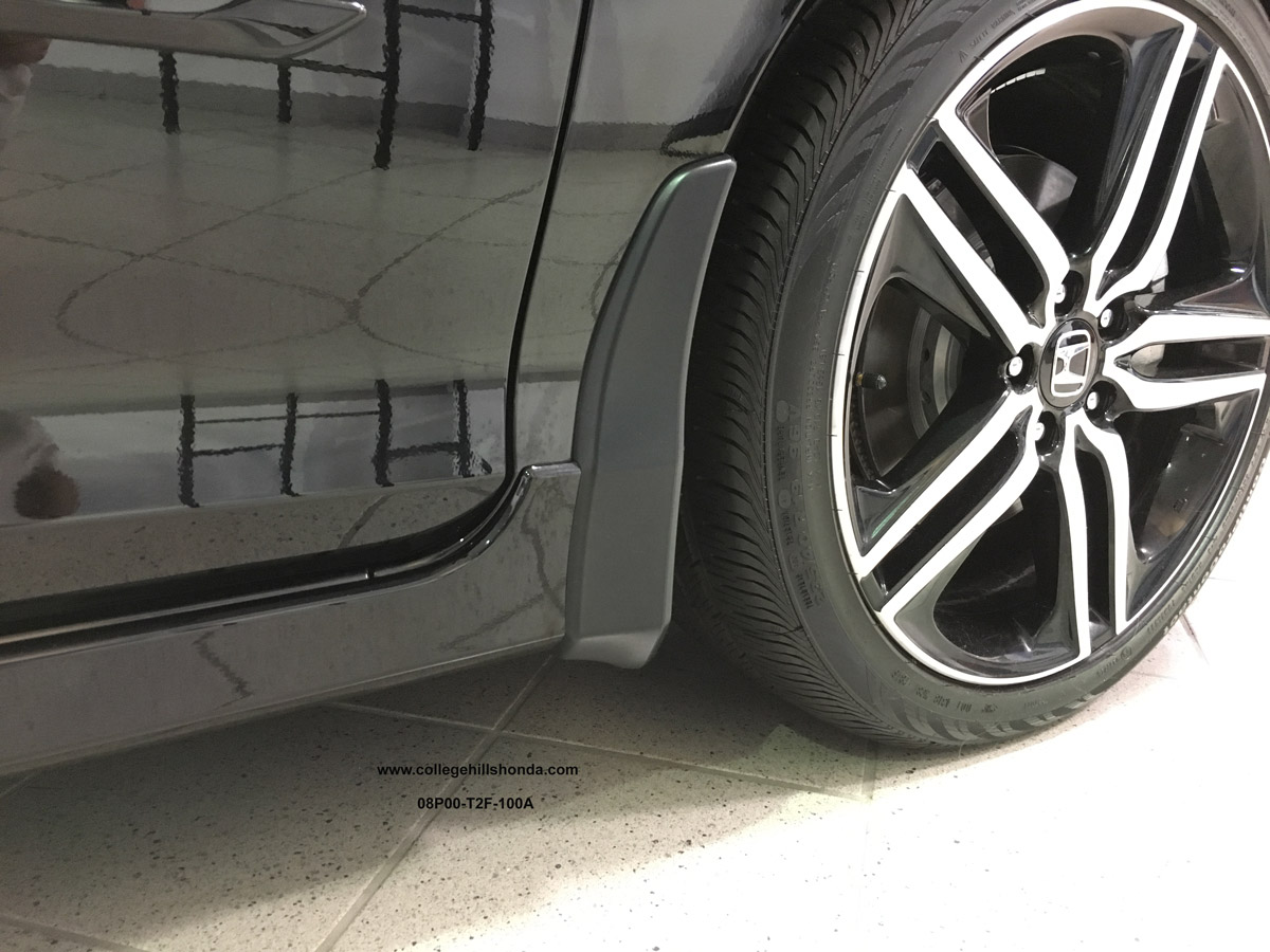 Pictures Of Honda Accord 2018 >> 2016-2017 Honda Accord 4dr Splash Guards - 08P00-T2F-100A