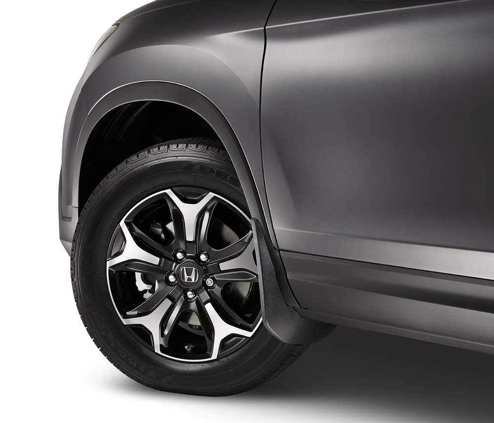 2017-2019 Honda Ridgeline Front Splash Guards