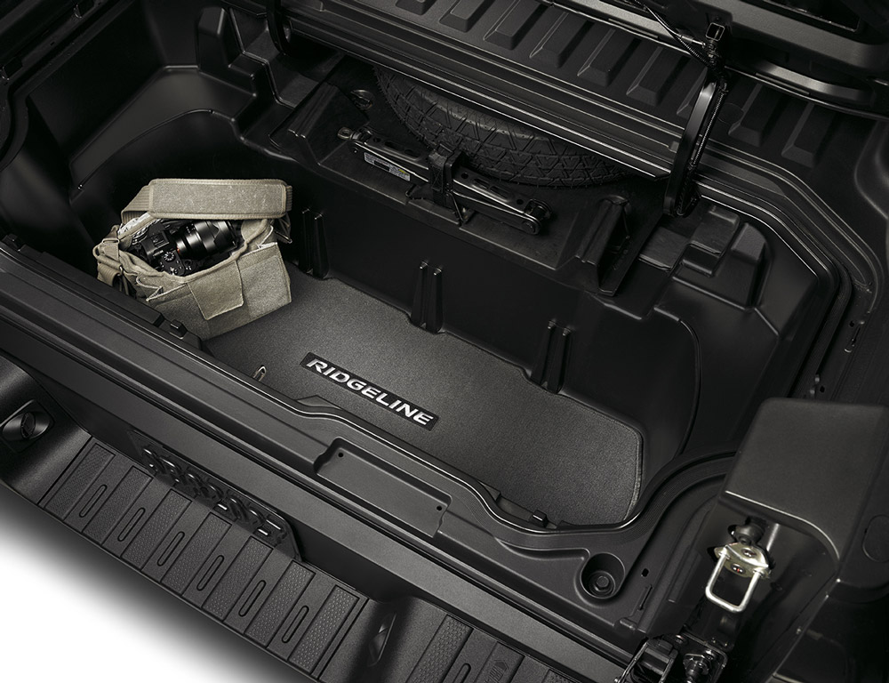 Honda Pilot Accessories >> 2017-2019 Honda Ridgeline Trunk Carpet - 08P11-T6Z-100