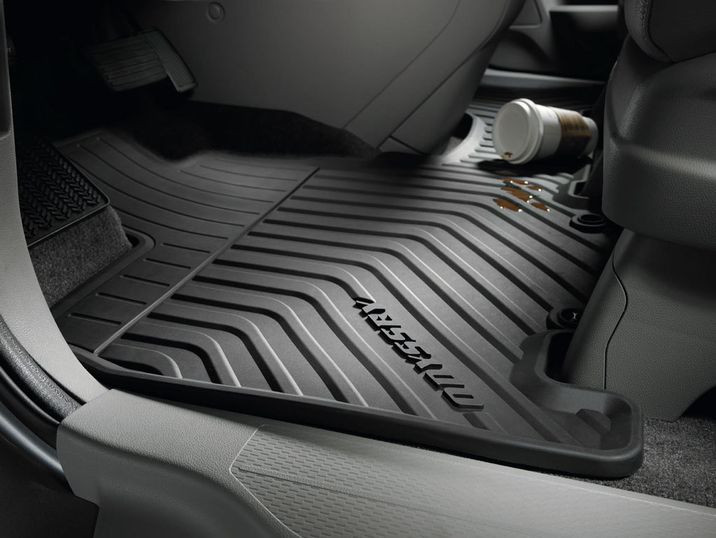 Weather Floor Mats >> 2011-2017 Honda Odyssey All Season Floor Mats - 08P13-TK8-110A