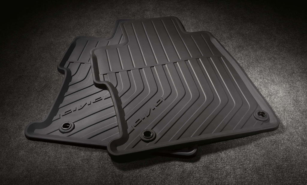 2013 Honda Civic 4dr All Season Floor Mats 08p13 Tr0 110a