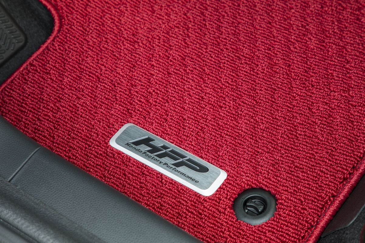 Carpet Floor Mats >> 2015-2020 Honda Fit HFP Red Carpet Floor Mats - 08P15-T5A-110