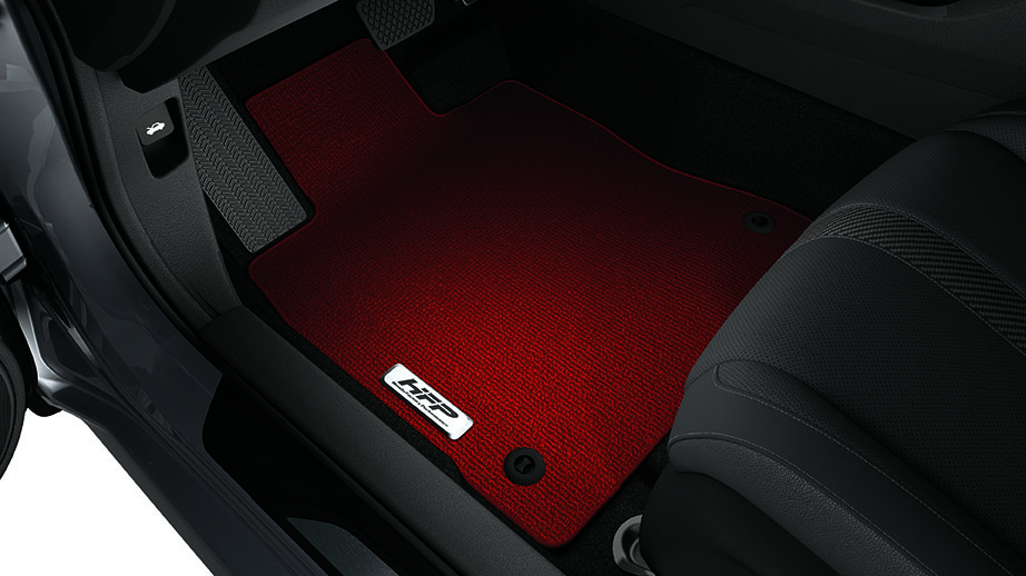 2017-2018 Honda Civic Sport Hatchback Red HFP Floor Mats ...