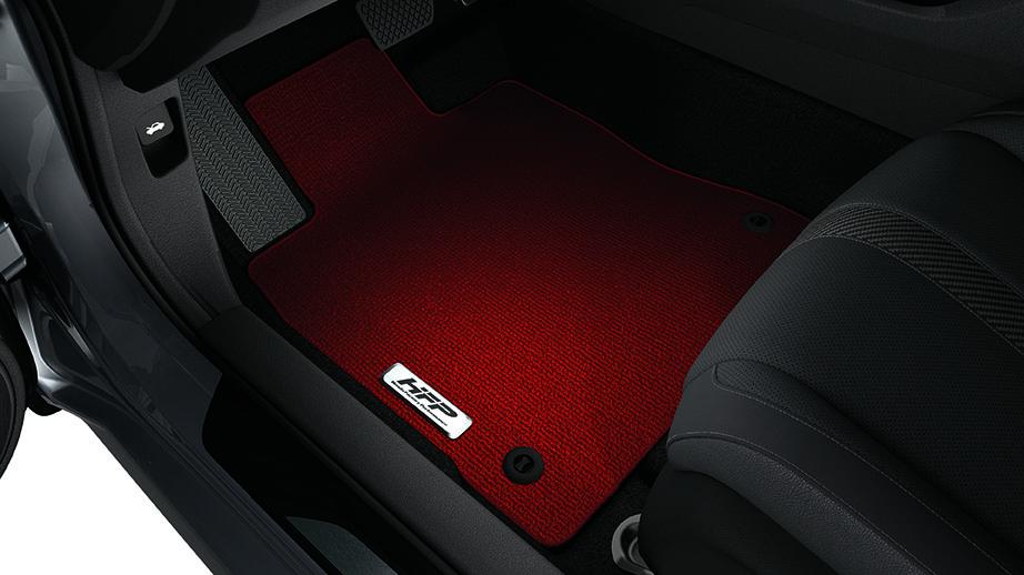 2017-2019 Honda Civic Sport Hatchback Red HFP Floor Mats ...