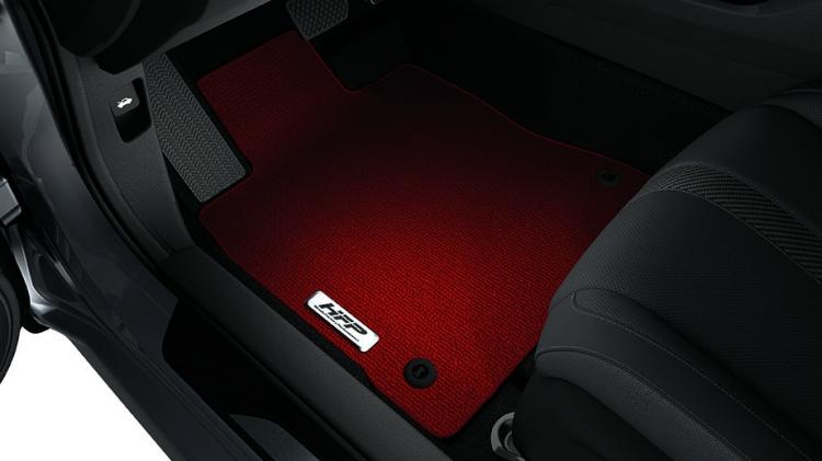 Red Hfp Floor Mats
