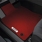Red HFP Floor Mats