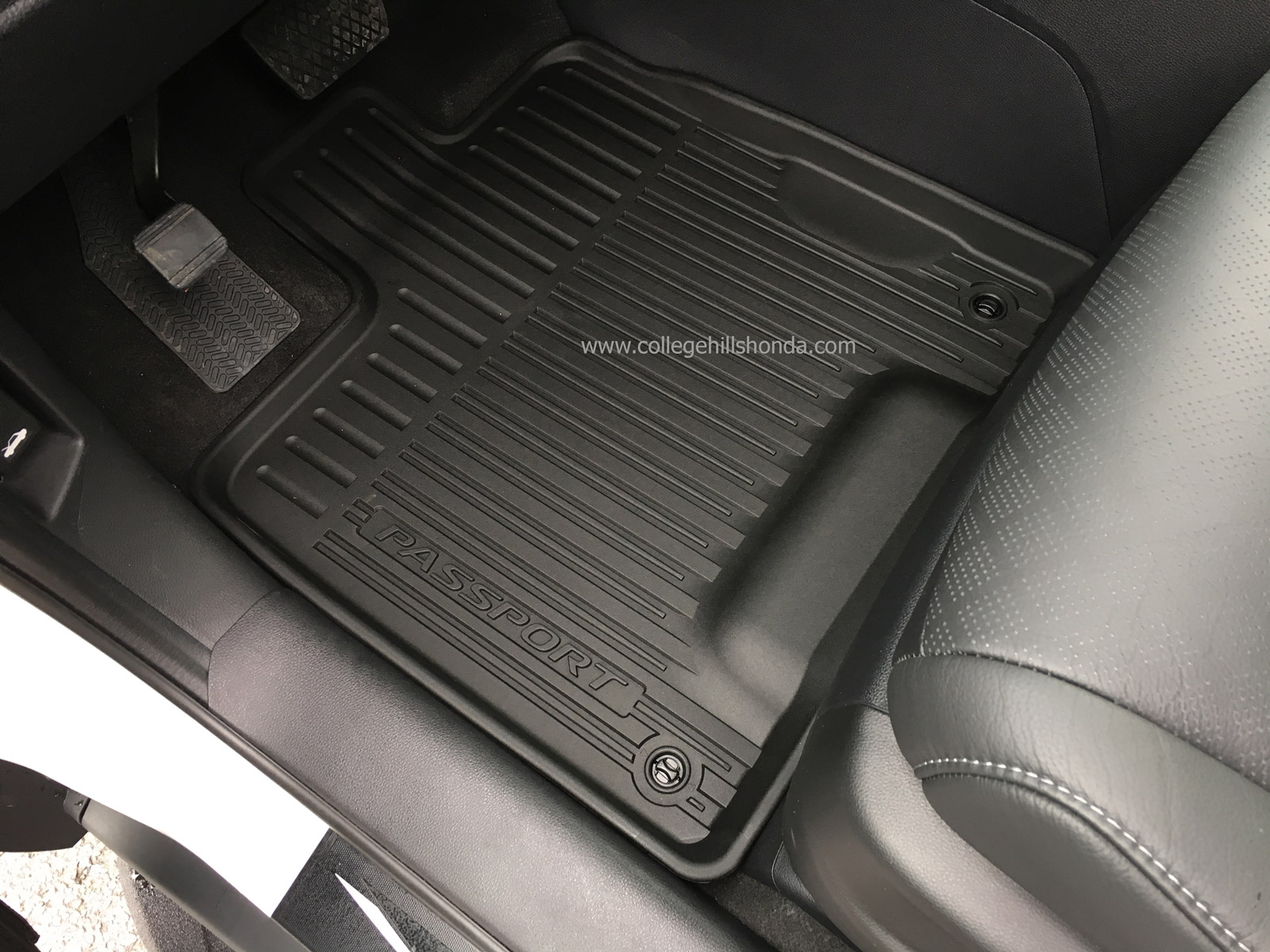 Honda Civic Aftermarket Parts >> 2019-2020 Honda Passport All Season Floor Mats - 08P17-TGS-100