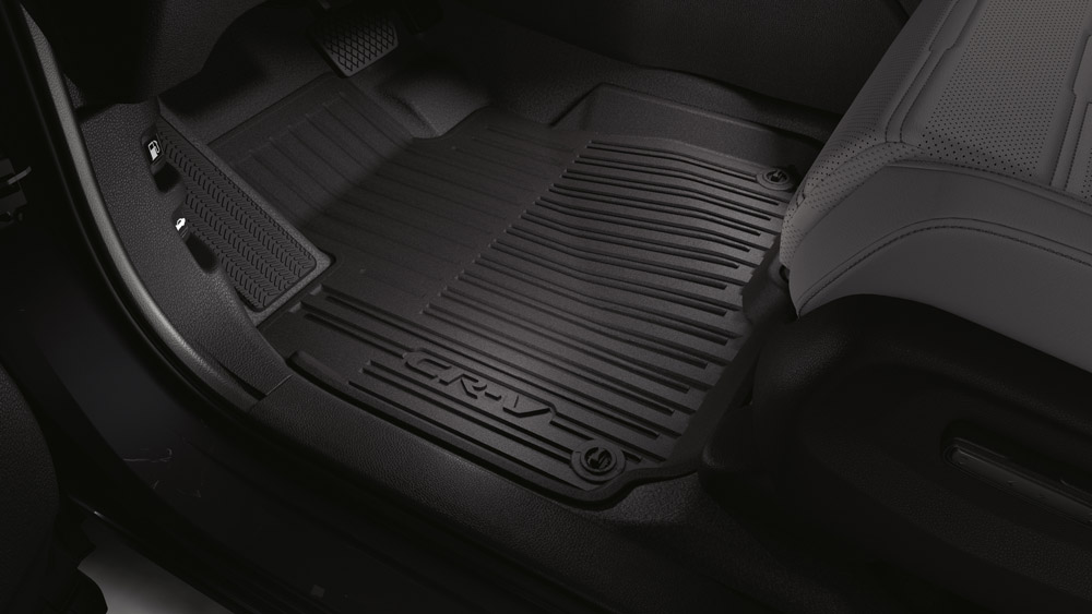 2017 2018 Honda Cr V Black High Wall All Season Floor Mats