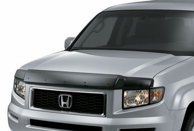 2006 2014 honda ridgeline hood air deflector 08p47 sjc 100. Black Bedroom Furniture Sets. Home Design Ideas