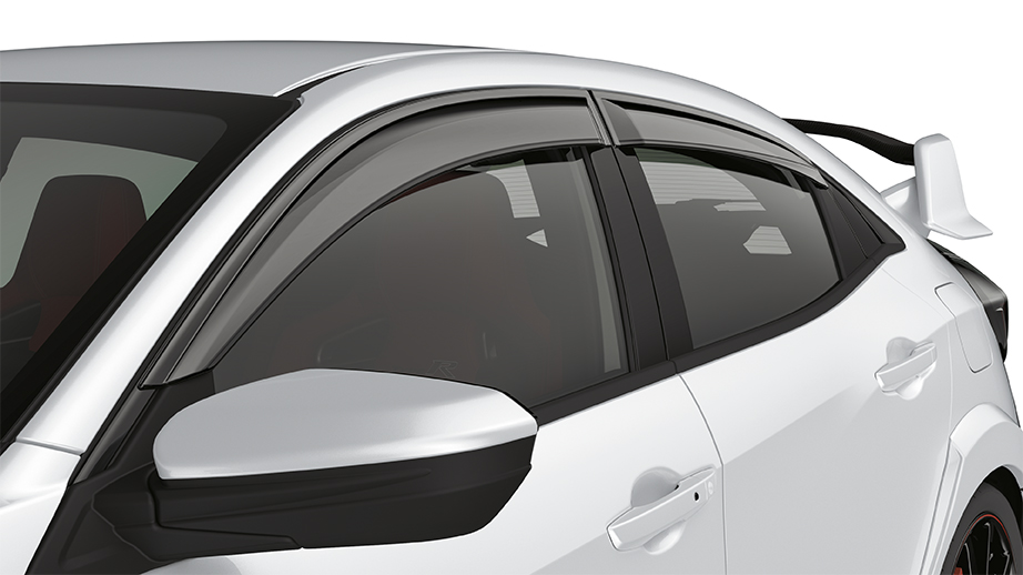 Honda Pilot Accessories >> 2017-2018 Honda Civic Hatchback Door Visors - 08R04-TGG-100A