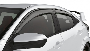 Door Visors & 2017-2018 Honda Civic Hatchback Door Visors - 08R04-TGG-100A