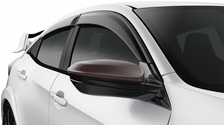 2017 2019 Civic Type R Carbon Fiber Door Mirror Covers 08r06 Tgh 110