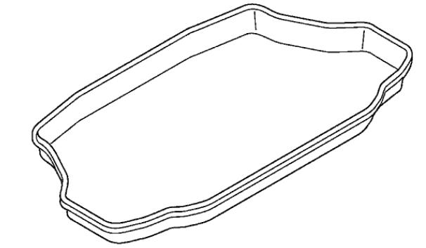 2007-2011 honda civic hybrid trunk tray for hybrid