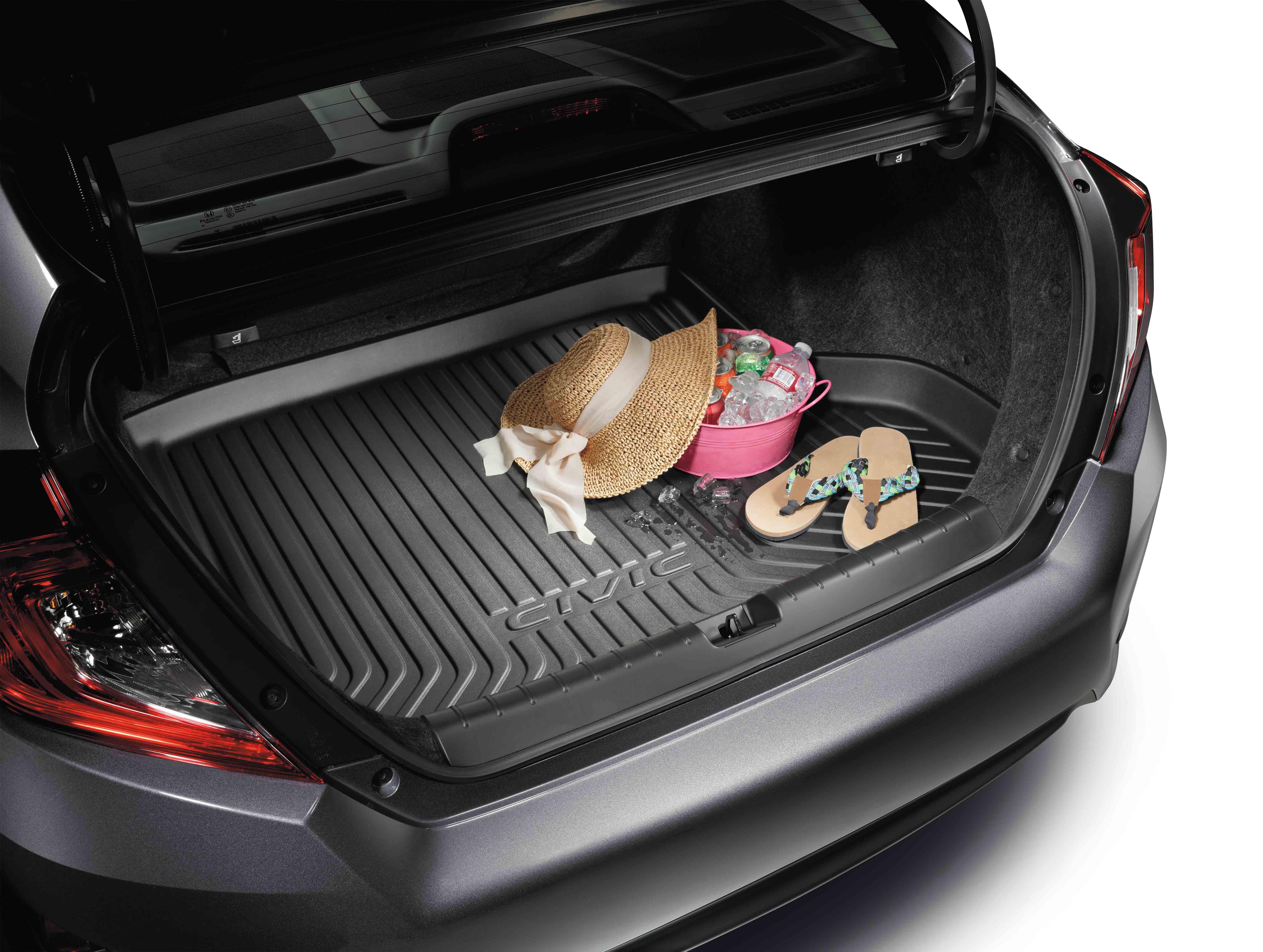 2016-2018 Honda Civic 4dr Trunk Tray - 08U45-TBA-100