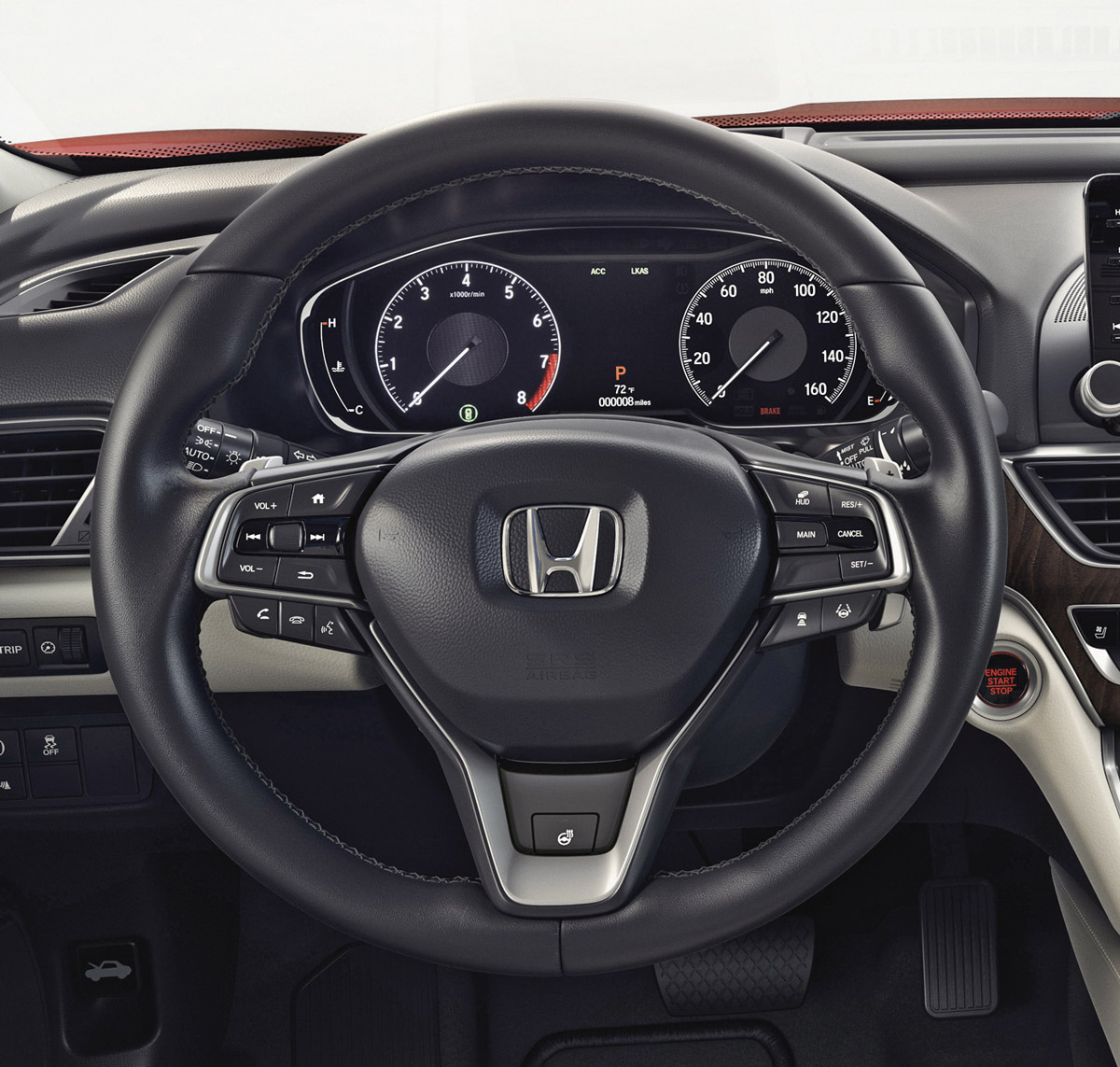 2018-2019 Honda Accord Heated Steering Wheel (w/o Paddle ...