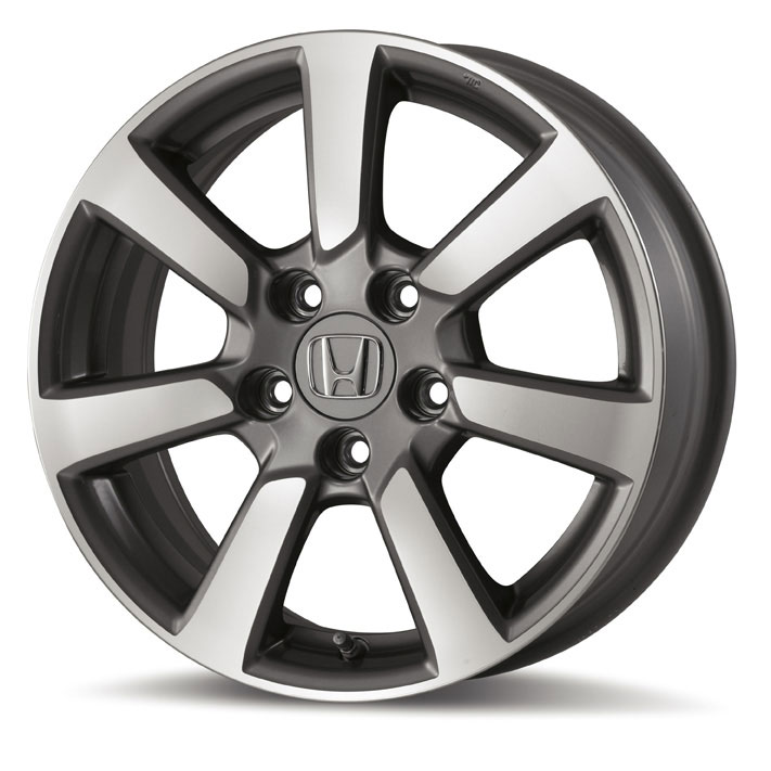honda civic  machine finish alloy wheel   tr