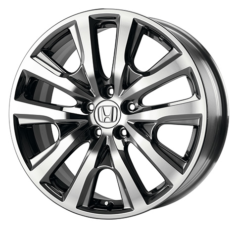 "2013-2017 Honda Accord 19"" Chrome-Look Alloy Wheel (each) - 08W19-T2F-100A"