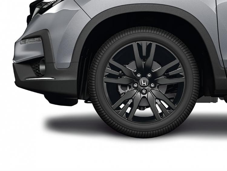 2019 Honda Pilot 20 Black Alloy Wheels Each 08w20 Tg7 101b