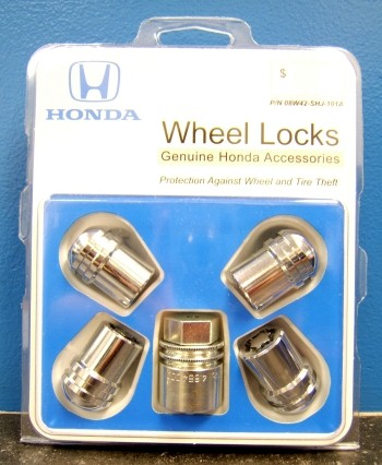 Genuine Honda Wheel Locks 08w42 Shj 101a