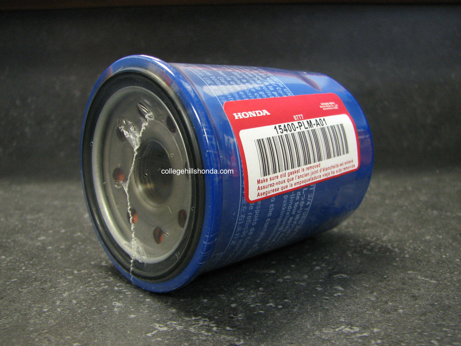 Honda Oil Filter w/Washer (Filtech) - 15400-PLM-A01_94109-14000