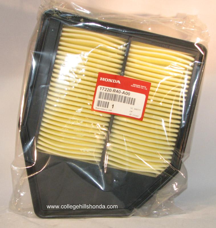 2008-2012 Honda Accord Air Filter (4cyl) - 17220-R40-A00