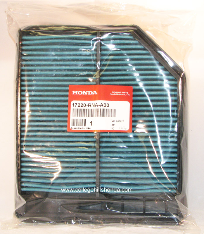 2006 2011 Honda Civic Air Filter 17220 Rna A00