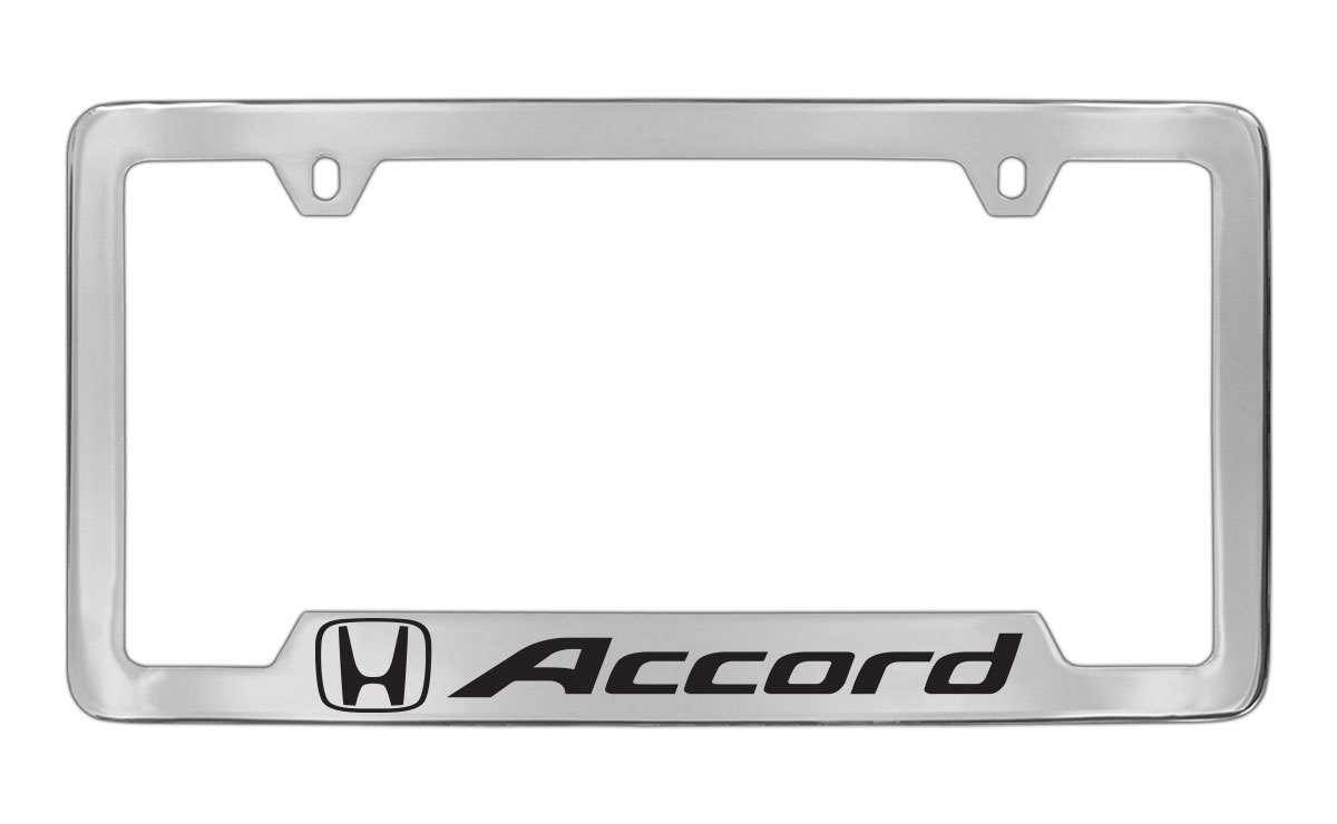 chrome accord license plate frames 20 w free shipping drive accord honda forums. Black Bedroom Furniture Sets. Home Design Ideas