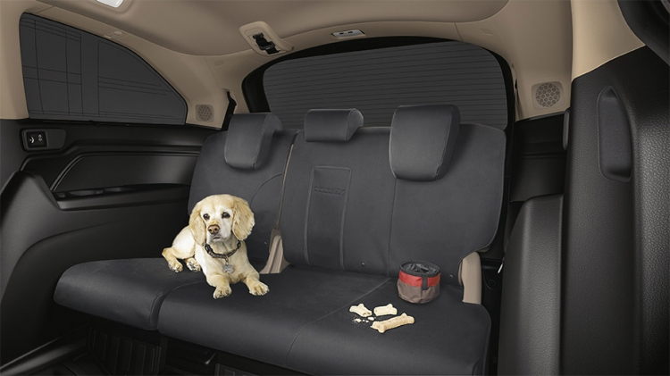 Honda Pilot Seat Covers >> 2018-2020 Honda Odyssey 3rd Row Seat Covers - 08P32-THR-110B